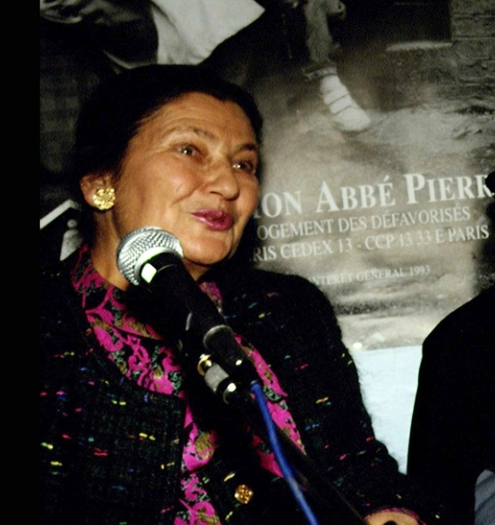 L'abbé Pierre with Simone Weil